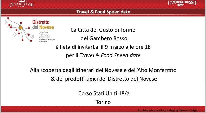 #foodandtravelnovese speed date a numero chiuso...prenotate!