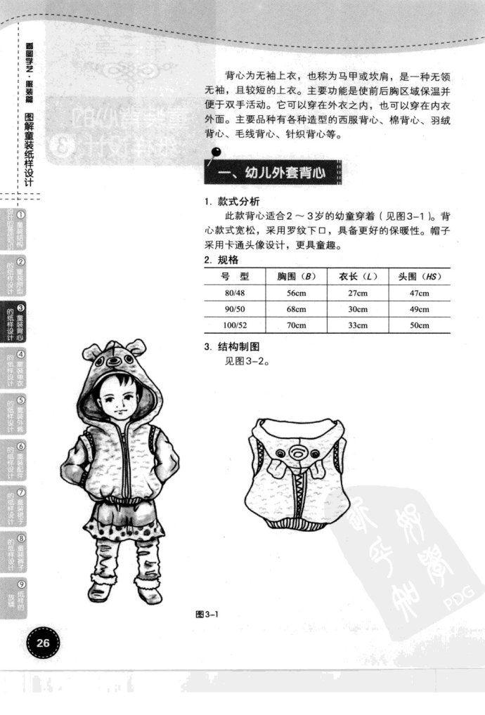 图解童装纸样设计/illustrated children's books pattern design/http://blog.sina.com.cn/s/blog_5fe077450101few2.html