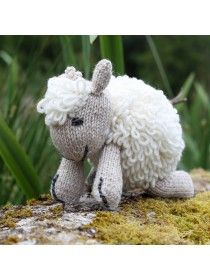 Aran Hand Knit Sheep Teddy R457