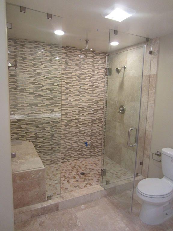 Bathroom Mirrors Kelowna 28 best frameless shower enclosures images on pinterest