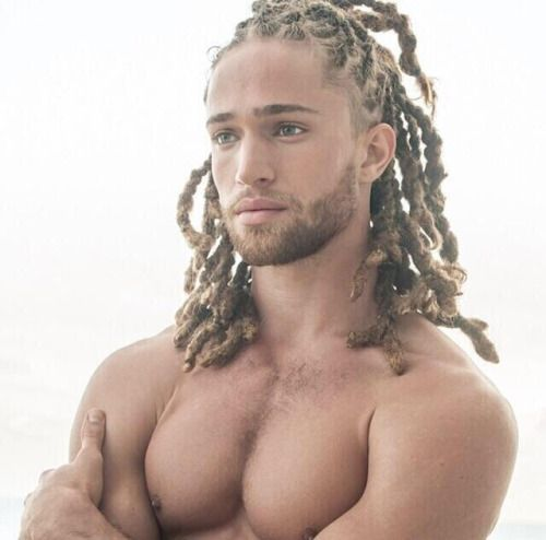 blonde dreadlocks man beard - Google Search