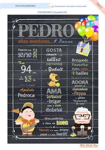 Chalkboard G_Kit UP Altas Aventuras_Pedro | por Ateliê Roberta Pupo
