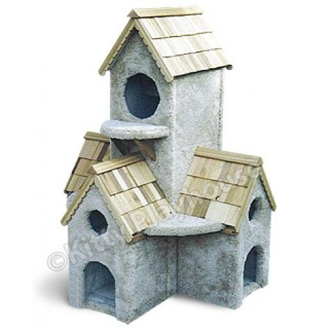 Cat Condos : 3 Foot Dutch Bell Tower Cat Playhouse
