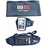 On Black Friday Cyber monday sale Running Belt   Armband   Gift Bag by B2action. For Iphone 5 6 Plus Ipods Samsung Galaxy S6 S5