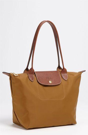 Latest Cheap Portable Longchamp LM Bags Orange