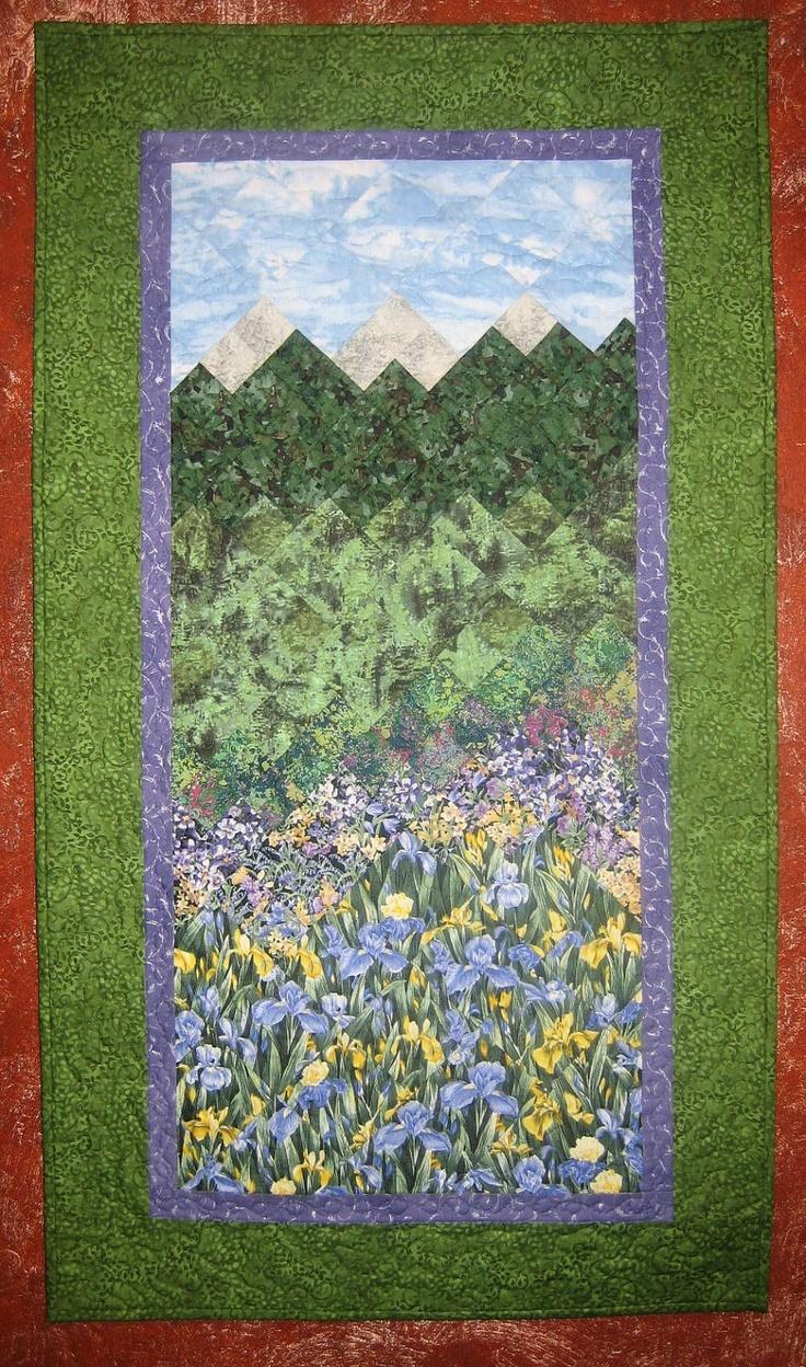Landscape Quilt Patterns Kits : 140 best images about Quilt Love: Pictoral on Pinterest Quilt, Landscape quilts and Cat quilt