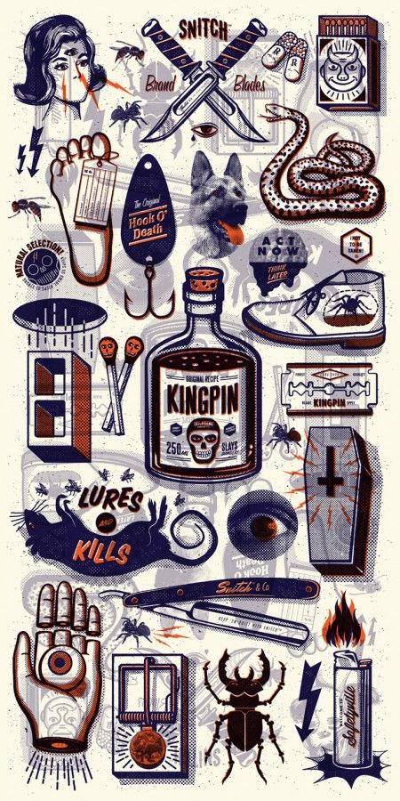 Beautiful Vintage Illustrations by Andrew Fairclough