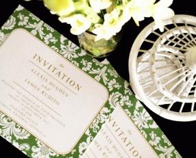 #Wedding_Invitation @Aaron Giles  Alexis & James