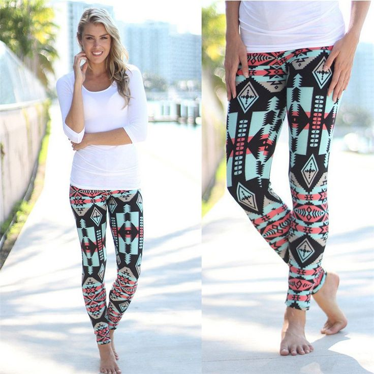 Luck Dog Women Leggings Print Stretchy Casual Skinny Leggings Pants