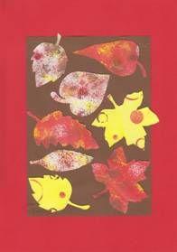 Podzimní listy – koláž