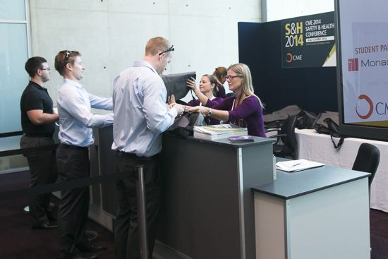 PCEC Mobile Registration Desks