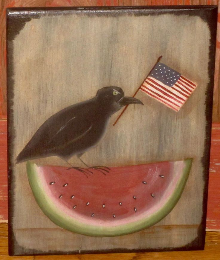 how to make a decorative watermelon