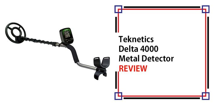 Teknetics Delta 4000 Metal Detector Review