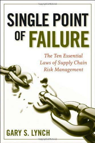 Over the past decade organizations have faced relentless customer demand for better value at less cost, individual customization, greater choice, faster delivery, higher quality, exceptional service, and more recently – increased environmental and social consciousness. The organization's weapon o... more details available at https://insurance-books.bestselleroutlets.com/risk-management/product-review-for-single-point-of-failure-the-10-essential-laws-of-supply-chain-risk-m