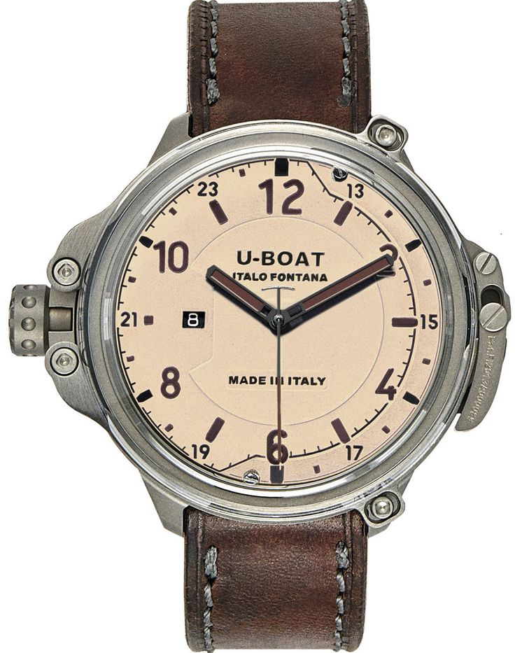 U-Boat Watch Capsule 50 Beige Plexi Limited Edition #basel-15 #bezel-fixed #bracelet-strap-leather #brand-u-boat #case-depth-23-5mm #case-material-titanium #case-width-50mm #date-yes #delivery-timescale-call-us #dial-colour-cream #gender-mens #limited-edition-yes #luxury #movement-automatic #new-product-yes #official-stockist-for-u-boat-watches #packaging-u-boat-watch-packaging #style-dress #subcat-capsule #supplier-model-no-7470-p #warranty-u-boat-official-2-year-guarantee…