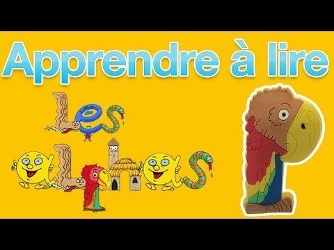Apprendre à Lire avec les Alphas - Méthode syllabique - Lettre P - YouTube