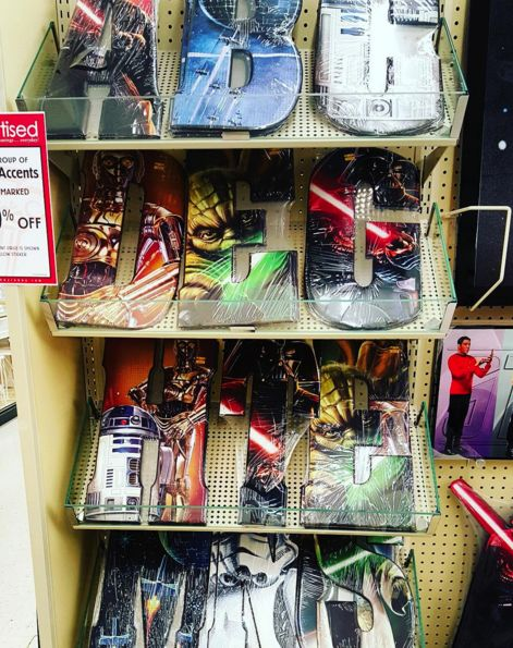 find our 9x18 star wars assorted tin letters in stores at hobby lobby