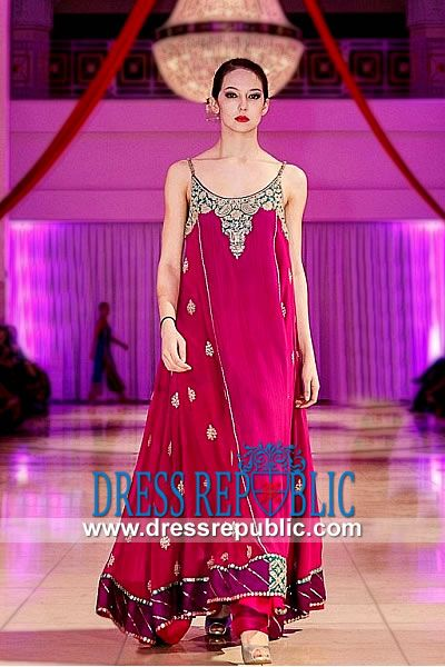 Hot Pink Berlin, Product code: DR8969, by www.dressrepublic.com - Keywords: Style 360 Party Dresses, Style 360 Designer Pakistani Dresses 2013 Online Collection