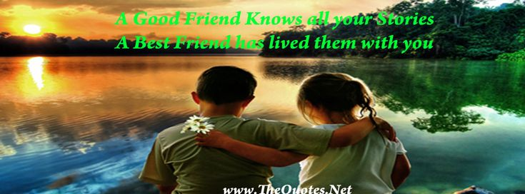 A Good Friend Knows all your Stories A Best Friend has lived with you #quote #friendship