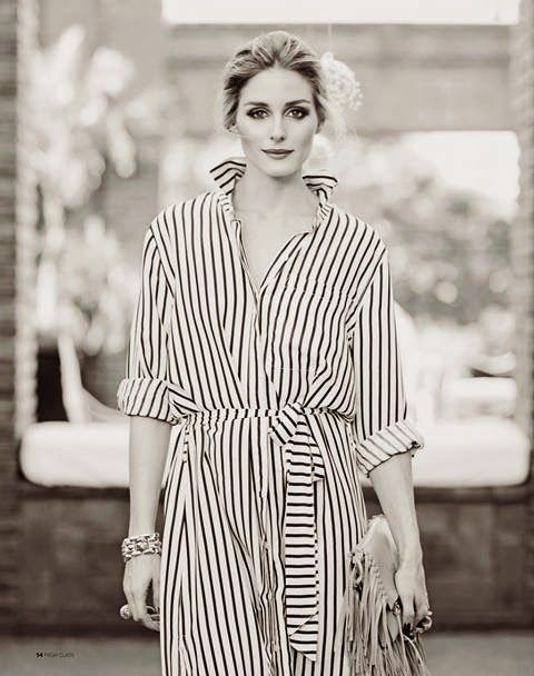 The Olivia Palermo Lookbook : Olivia Palermo For High Class Magazine