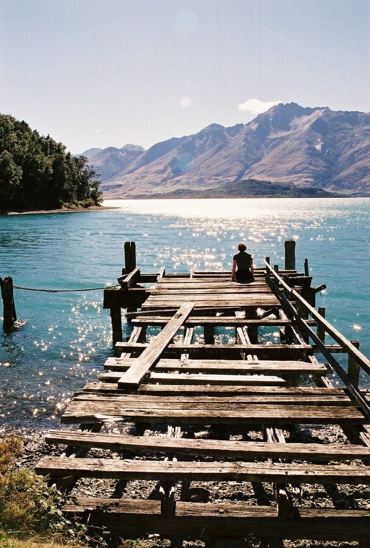Kinloch. 45kms from Queenstown at the tip of Lake Wakitipu. New Zealand