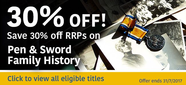 #FamilyHistory #Offer #FamilyHistorians #Genealogy #Ancestors  Over fifty volumes are now available in Pen & Sword's family history series, which makes it one of the largest and most influential published in Britain. Since the first books appeared ten years ago, the range of topics has grown to the point where almost every aspect of the subject is covered.  There are volumes on the most important types of records for family historians and guides to the family history of the British regions…
