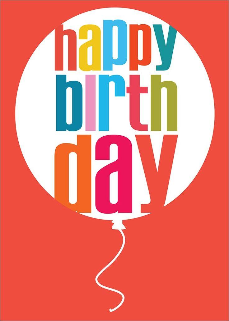 Birthday Balloon Red