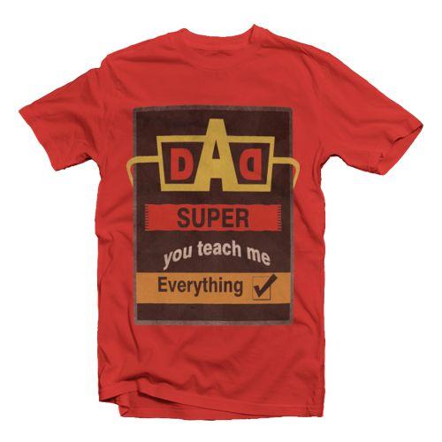 Super Dad oleh ART-shirt