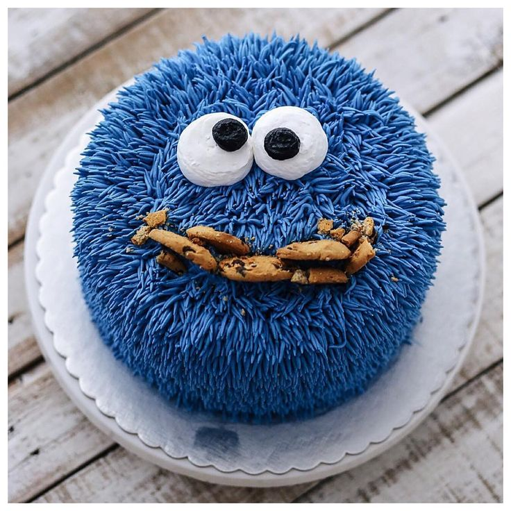 Hairy cookie monster   – Dekotorten