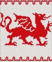 Welsh Dragon by Sigrid Wynne-Evans