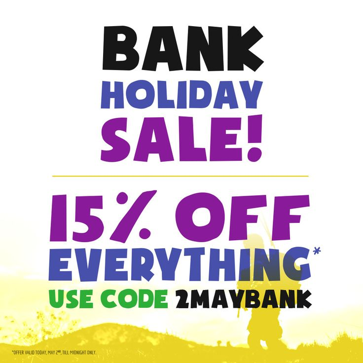 Early May Bank Holiday Sale! Military 1st online store gives you 15% OFF all categories with #Discount Code 2MAYBANK. Hurry up and visit our website now: this offer is valid today, May 2nd, until midnight only. Free UK delivery & returns! #BankHoliday #Sale