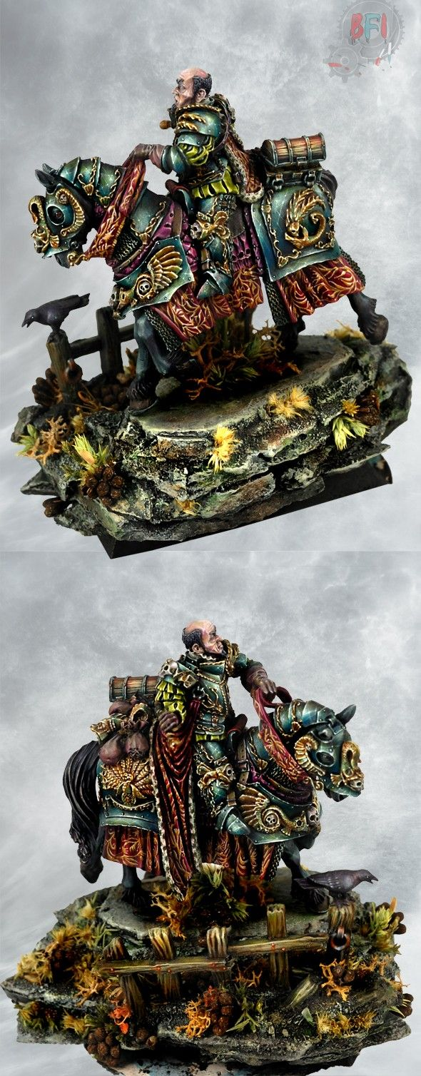 Lietpold from Forge World painted by Bohun