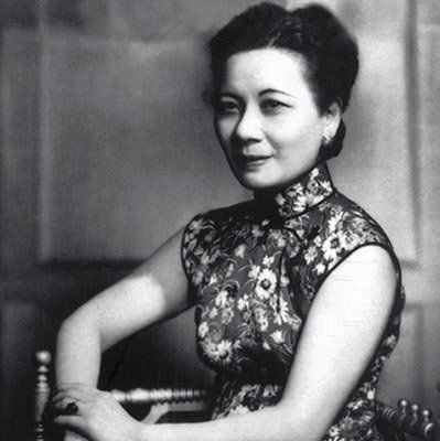 Soong May-ling, 宋美龄,sister of Soong ChingLing, she married President Chiang Kai-shek, became First Lady of the Republic of China