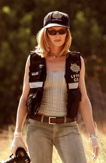 Marg Helgenberger alias Catherine Willows (CSI: Crime Scene Investigation)