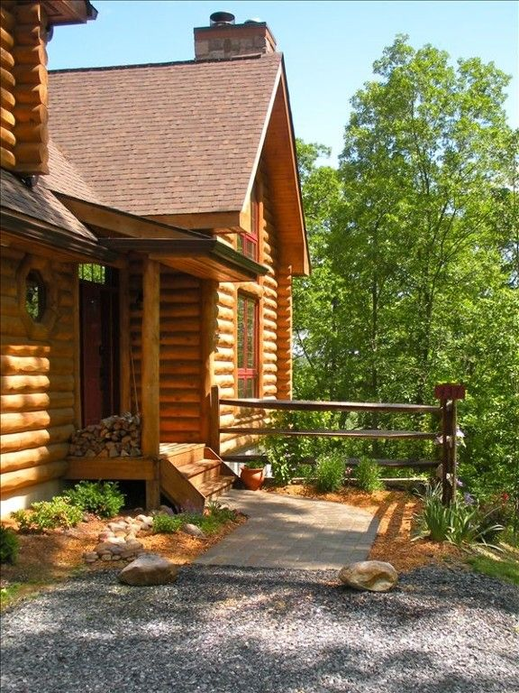 Rileyville cabin rental river woods retreat rustic for Log cabins in shenandoah valley