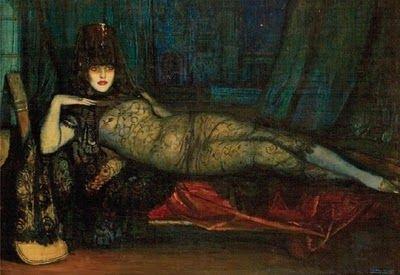 Spanish Art Deco Artist Federico Beltrán Masses (1885-1949)