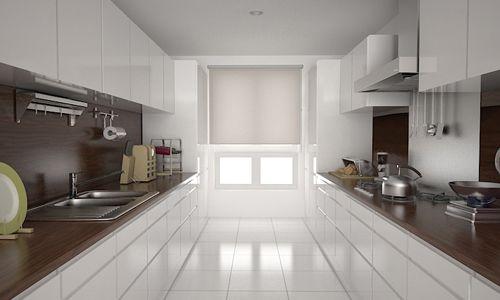 Moderne keukens - Parallelle opstelling
