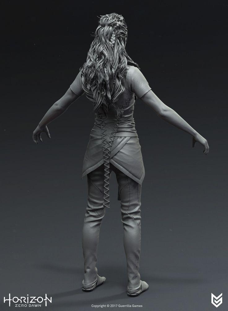 ArtStation - Horizon Zero Dawn - Aloy Undergarment Costume, Arno Schmitz
