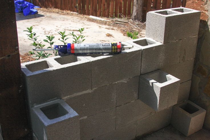 Mejores 42 im genes de cinder blocks en pinterest for Bloques de cemento para jardin