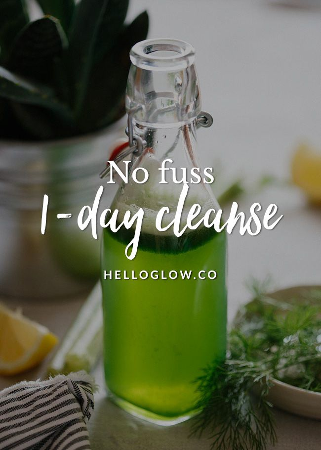 Easy 1-Day Cleanse for a Post-Vacation Reboot + Raspberry Chia Pudding   http://helloglow.co/no-fuss-1-day-cleanse/