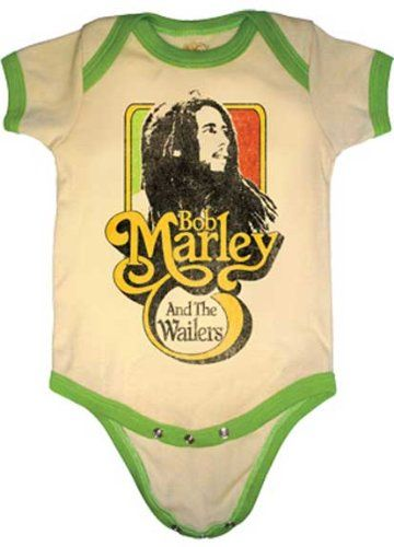 Bob Marley onesie...don't have kids but i could get this for my nephew!