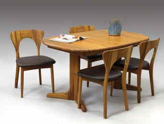 Koefoed Peter Dining Table and Chairs