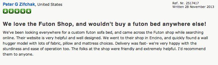 Review - The Futon Shop Encino - 17047 Ventura Blvd Encino, CA 91316 (818) 905-1869