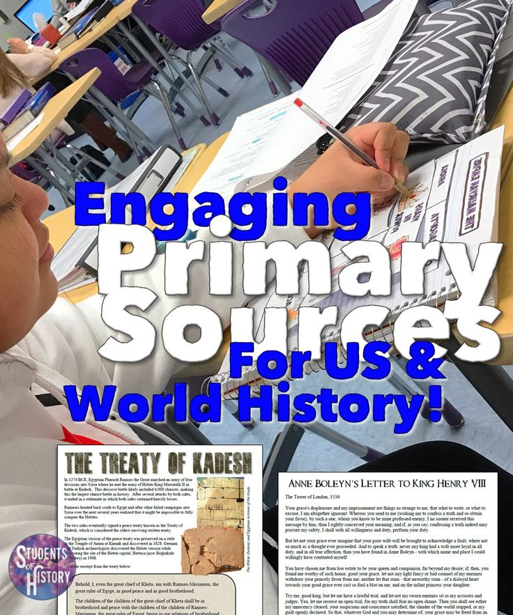 Dozens of awesome primary source activities for World and American History!!