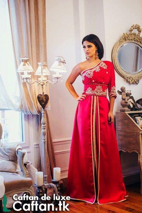 Caftan sari indien rouge 2014