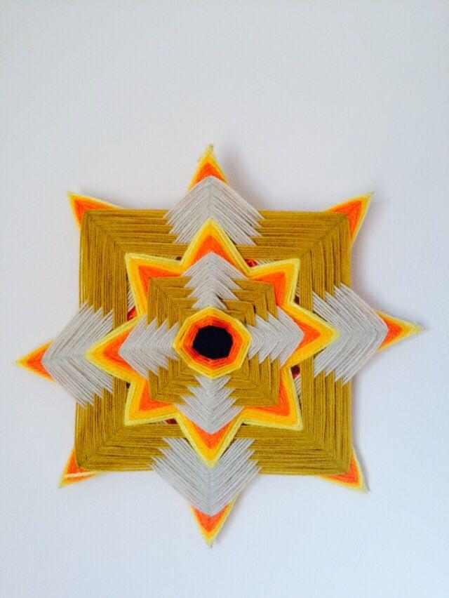 Mandala tejido