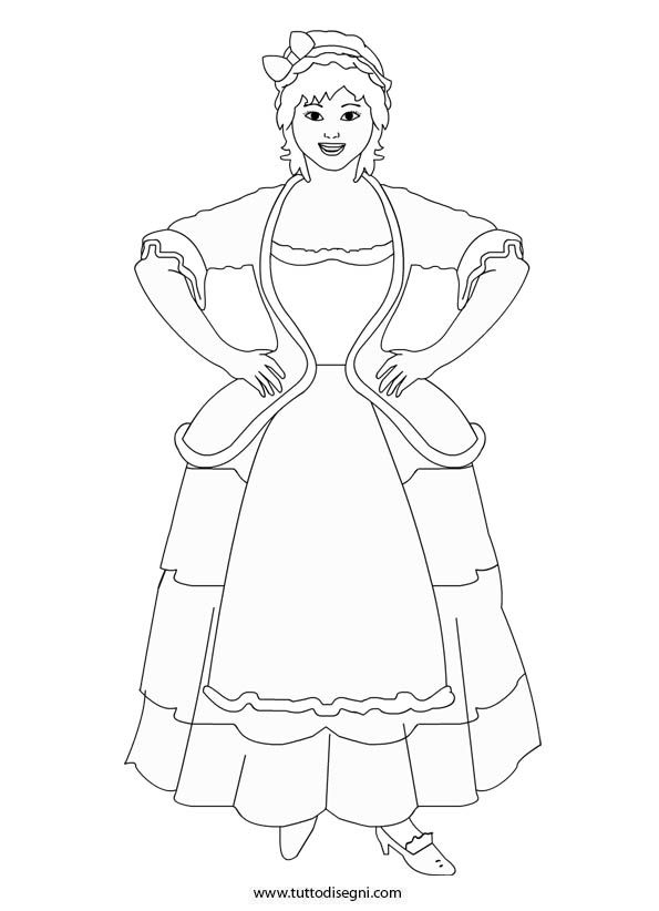 Colombina Commedia Dell Arte Coloring Pages Your Search Search