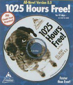 2003 America Online - software CD