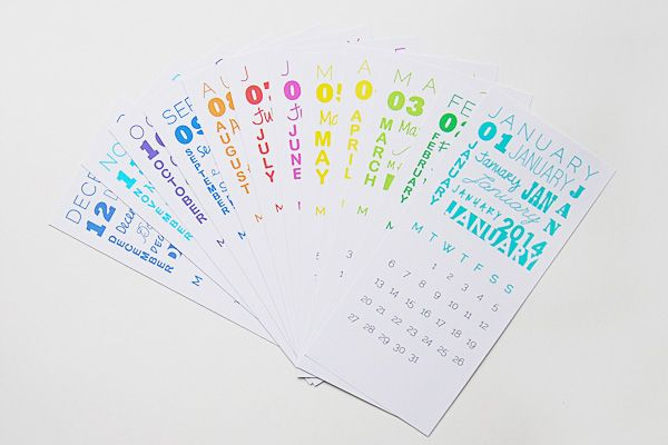 12 Cute, Free Printable Calendars for 2014 ~ with lines for forward scheduling thru~out the day to update a bit later; with currently sched'd times for the Month or Week already updated as you embark on your Day. Very cool.