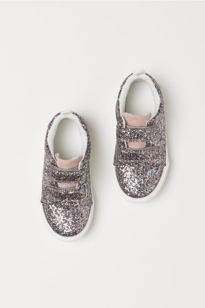 4c3f9061944490 Glittery sneakers - Light pink glittery - Kids